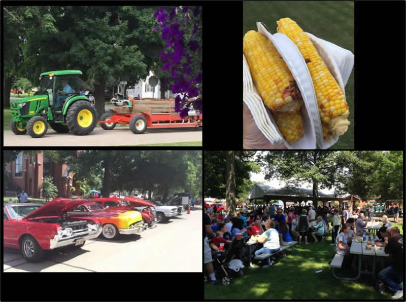 Corn Daze Collage